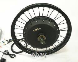 Leili 3000with72v Ebike Electric Bike Fat Regular Tire Conversion Kit Motor Seulement