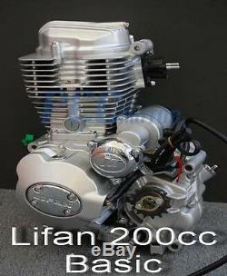Lifan 200cc 5 Vitesse Du Moteur Du Moteur De Moto Dirt Bike Vtt I En25-base