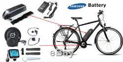 MID Motor Mount E-bike Diy Kit Complet De Conversion Avec Samsung Batterie Et Chargeur