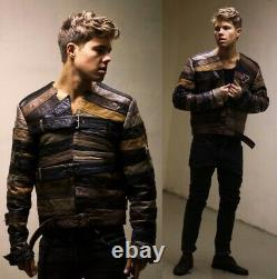 Maison Martin Margiela X H&m Leather Belt Jacket Taille L