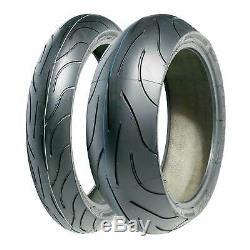 Michelin Pilot Power 120/70 Zr17 (58w) Et 180/55 Zr17 (69w) Pneus Moto Paire