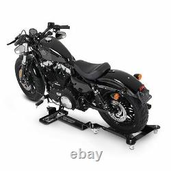 Moto Dolly Mover Constands M2 Black Motorcycle Trolley Skate Parking Aid