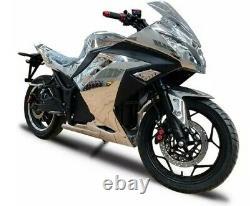 Moto Électrique Adulte 20000w Batterie 72v 100 + Mph 100 + Miles Gamme