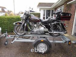 Moto / Moto Remorque 1-2 Vélos Brenderup Mc2 Principal Concessionnaire Britannique