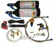 Moto Nitrous Oxide Kit Twin Bottles Hayabusa Gsxr1000, Drag Bike Nitreux