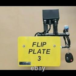 Moto Plaque D'immatriculation De Vélo Flipper Hider