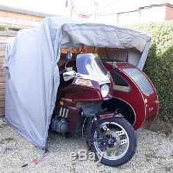 Moto Vélo Couverture Shed Vélomoteur Stockage Garage Grange Moto Scooter Pliant +
