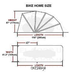 Moto Vélo Pliant Couverture Shed Garage Moto Scooter Stockage Nouveau Abri