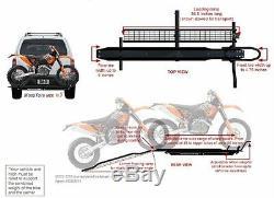 Mototote Moto Tote Dirt Bike Porte Moto Hitch Hauler Rack Rampe