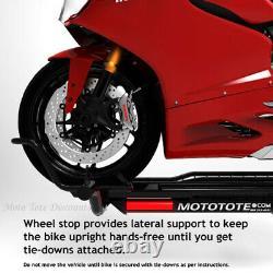 Mototote Transporteur Moto Sport Bike Mototote Hauler Mtx Attelage À Cheval Withramp