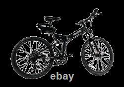 Neuf Vélo Électrique Vélo Vélo Classique Mtb 350w Moteur Vitesse Rapide Pas Cher