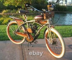 New Monark Motorized Bike Dual Springer Suspension Fork Heavy Duty Built In Etats-unis