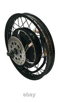 Niubo 18000with72v Electric Bike Ebike Fat Regular Tire Conversion Kit Motor Seulement