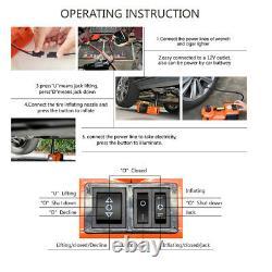 Nouveau 5 Tonnes Electric Hydraulic Floor Jack Lift Electric Impact Wrench Repair Kit