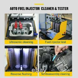 Nouveau Ct150 Injecteur De Carburant Essence Ultrasonic Cleaner Testeur Machine Moto