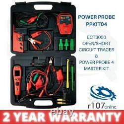 Nouveau Power Probe 4 & Ect3000 Décodeur Court-circuit Ouvert, Auto Electrics Diagnostic