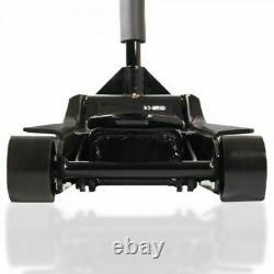 Nouveau Quick Lift Heavy Duty Dual Pump 4 Ton Ultra Low Profile Floor Trolley Jack
