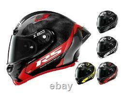 Nouveau X-lite X803 Rs Carbon Hot Lap Spoiler Amovible/casque De Moto Visière Foncée