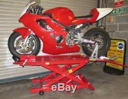 Nouvelle Hydraulique Vélo Moto Service Moto Boutique Ascenseur Rampe Table Banc