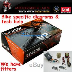 Parler Ncs V2 Moto Vélo Moto Alarme Et Antidémarrage Avec Démarrage À Distance