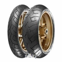 Pirelli Diablo 120/70 Zr17 (58w) Et 180/55 Zr17 (73w) Pneus Moto