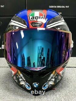 Pista Gp R Full Face Motorcycle Helmet 2020 Bm W S1000rr Fibre De Carbone Moto Gp