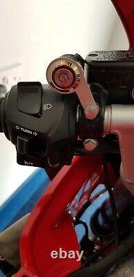 Plaque D'immatriculation De Vélo De Moto Flipper Hider