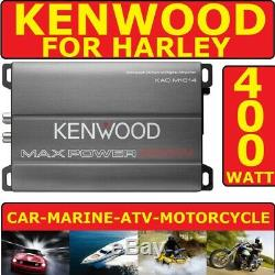 Pour Harley Moto Marine Radio Stéréo Amplificateur De Puissance De La 400watt