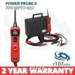 Power Probe 3 Auto Electrical Circuit Tester Kit, Rouge Ppr319ftc, Garantie De 2 Ans