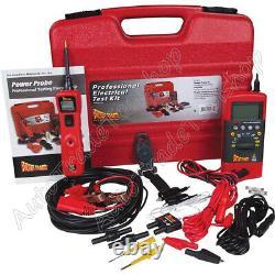 Power Probe 3 Kit De Test Électrique Set Cat IV Multimètre & Lead Set Pprokit01