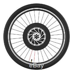 Roue Vélo Électrique E-vélo Avant Moteur Kit De Conversion Vélo À Vélo Hub 26