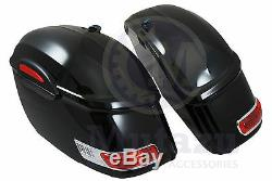 Rs Moto Saccoches Convient À La Plupart Road Star Vtx C90 Vulcan 650 1100 Ombre
