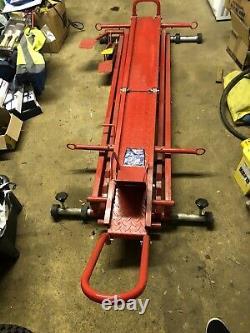 Sealey 450kg Ascenseur De Moto Hydraulique Mc450