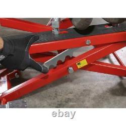 Sealey Motorcycle Motorcycle & Quad Bike Scissor Lift 500kg Capacité Hydraulique