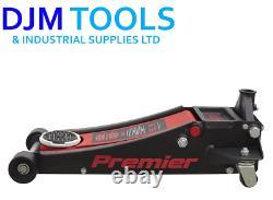 Sealey Tools 2500le Trolley Jack 2.5 Tonne 2.5t 88mm Ultra Low Entry Voiture De Sport