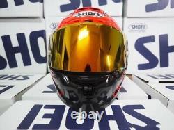Shoei Moto Full Face Helmet X14 Spirit 3 Ducati V4 Rouge Marc Marquez 93