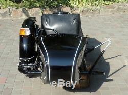 Sidecar Dniepr. Compatible Pour Bmw Motorrad Kawasaki Harley Davidson Honda Etc
