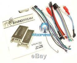 Soundstream St4.1000d Moto 4channel 1000w Max Composants Amplificateur Haut-parleurs