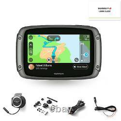 Tomtom Rider 550 Motorcycle Satellite Navigation System World Motorbike Maps