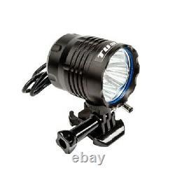 Tusk Led Casque Light Kit 2 Lights 4 Batteries Motorcycle Dirt Bike Vtt Utv Sxs