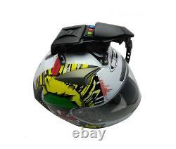 Uvia Casque Visor Shield Wiper Pour Shark Schuberth Suomy X-lite Airoh Skully