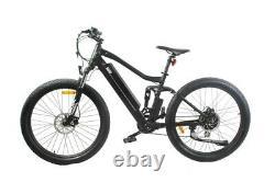 Vélo De Montagne Électrique E-bike Yvern S36v 250w Arrière Hub Motor Full Suspension