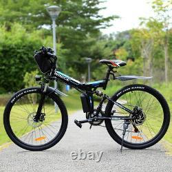 Vélos Électriques Vtt 26 Pliage E-bike Sup-motor City-bicycle Cycling