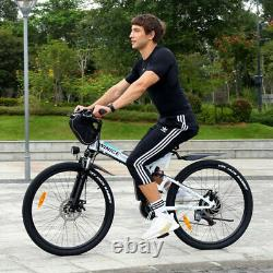 Vélos Électriques Vtt 26 Pliage Ebike E-citybike Bicycle 350w Motor Uk