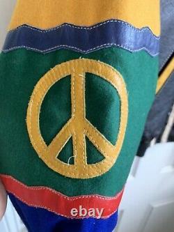 Veste En Cuir Vintage Moschino Jeans