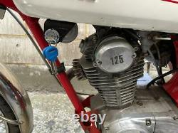 Vintage 1972 Honda Cb125 S Motorcycle Classique