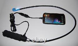 Vividia Va-800 Usb Flexible Borescope One-way 180° Articulant 8.5mm Pc Android