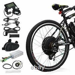 Voilamart 26 Roue Arrière Vélo Électrique 1000w 48v E Bike Motor Conversion Kit