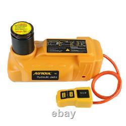 Voiture Hydraulique Électrique Jack Voiture Lifting Floor Jacks 6t 12v Suv Truck Portable